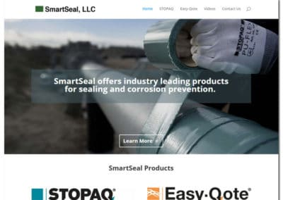 Website Design for SmartSeal, LLC - Gainesville, GA